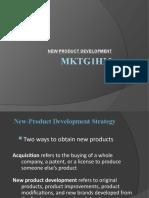 Ppt New Prod Dev and Pricing Mktg