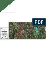 km 139-142 Embranchement Estillac – Colayrac-Saint-Cirq (près Agen) (avec zones sensibles sans rétablissement)