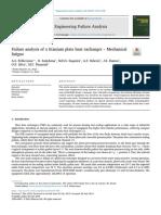 Failure Analysis of a Titanium Plate Heat Exchanger Mechanical Fatigue2019Engineering Failure Analysis