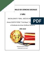 Cuadernillo de Ciencias Sociales