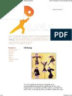 Chikung - Taichi y Chikung - Estilos Chen y Wudadang Sanfeng Taiji