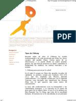 Tipos de Chikung - Taichi y Chikung - Estilos Chen y Wudadang Sanfeng Taiji