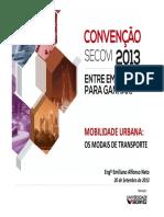 Emiliano Affonso Neto - Mobilidade urbana