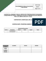 Pet-170-100 Procedimiento Para Localizacion y Replanteo