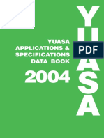 Katalog Moto YUASA2004