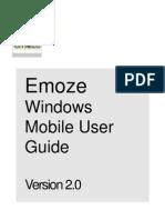 Emoze.windows.mobile.user.Guide.version2.0