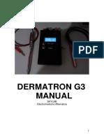 Manual Dematron G3