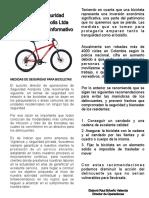 Recomendaciones de Seguridad Para Evitar Hurto de Bicicletas