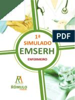 1º Simulado Emserh (Estilo Prova) - (Enfermeiro) (1)