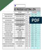 Cronograma de implantação de CIPA - Segurança do Trabalho nwn.xls