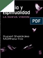 Ciencia y Espiritualidad. La Nueva Visión_Rupert Sheldrake, Matthew Fox
