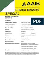 Boletin Especial s2 2019 Aaib