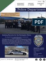 zoe ashburn police department website