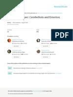 Adamaszek Et Al. - 2016 - Consensus Paper Cerebellum and Emotion