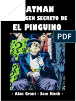 El Origen Secreto de El Pinguino (IndexComics)