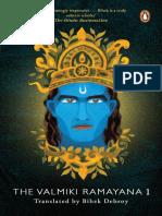 Bibek Debroy - The Valmiki Ramayana, Volume 1.pdf