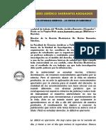 Revista Electrónica No. 01 Fácil Es Estudiar Derecho Lo Difícil Es Ejercerlo