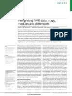 Beeck, Haushofer, Kanwisher - 2008 - Interpreting FMRI Data Maps, Modules and Dimensions