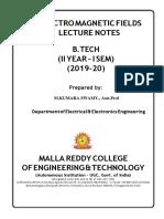 EMF Notes