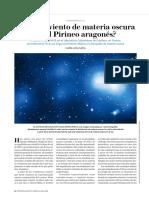 ¿Sopla el Viento de Materia Oscura en el Pirineo Aragonés?