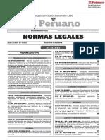 Decreto Supremo Que Aprueba El Reglamento de Seguridad y Salud en El Trabajo Para El Sector Construcción