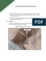 Estudio Geotecnico Para El Diseño de Fundaciones Del Puente Quilca