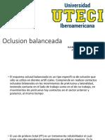 Oclusion balanceada