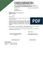 surat pengantar pkl