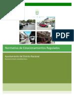 Propuesta NormativayOrdenanzaEstacionamientosRegulados ADN 2013