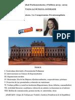 Actividad Parlamentaria Susana Andrade 2015-2019 Resumen