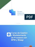 Brochure - Gestión y Modelamiento de Procesos Con BPM y Bizagi