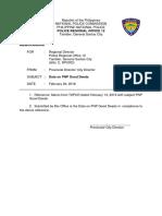 Data on PNP Good Deeds