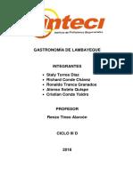 Gastronomia Lambayeque Final