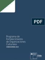Bases Programa Fortalecimiento Organizaciones 2019
