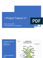 Alvaro Pozo - Proyect Teams Plus1