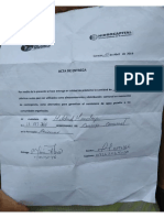 Documento de Hidrocapital.