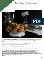 lacocinadefrabisa.lavozdegalicia.es-Pasteles Pastéis de Belém  Manual o Thermomix o súper rápido
