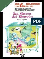 [D&D Aventura Sin Fin] [Cubierta Negra 20] Algozin, Bruce - La Garra Del Dragon [48110] (r1.0)