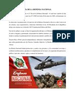 Día de La Defensa Nacional