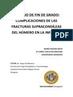 Fracturas supracondileas