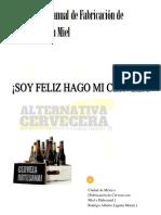 Fabricación de Cerveza Artesanal