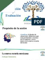 Planeación y Evaluación Evolucion Docente