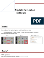 Tutorial on Navigation Software and Map Update