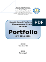 Cover Page for Rpms