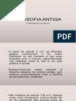 slide inédito FILOSOFIA CLÁSSICA