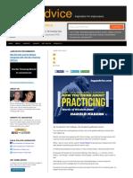 Harold Mabern s Advice on Practicing Jazz Improvis