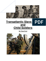 Modern History Assignment- Trans-Atlantic Slave Trade (TAST) and Child Soldiers