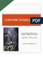 La Electricidad - Conceptos Generales