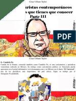 César Urbano Taylor - 10 Caricaturistas Contemporáneos Venezolanos Que Tienes Que Conocer, Parte III