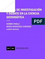 Temas de Investigacion y Debate en La Ciencia Geografica 2017